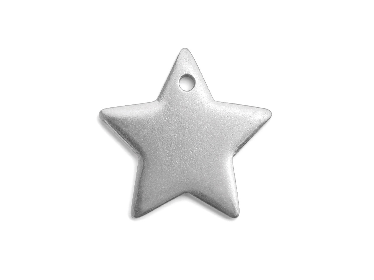 Impressart Pewter Star 25mm        Stamping Blank Pack of 2 Pierced   Hole