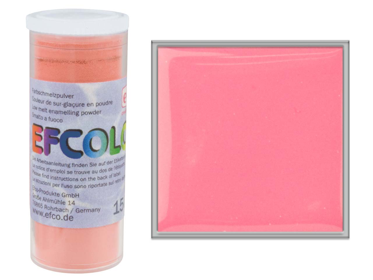 Efcolor Enamel, Old Rose, 10ml