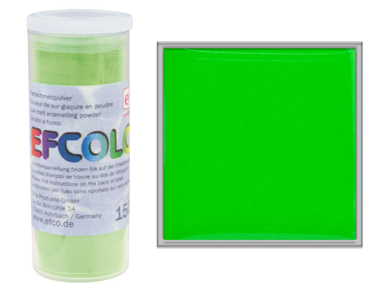 Efcolor Enamel, Spring Green, 10ml