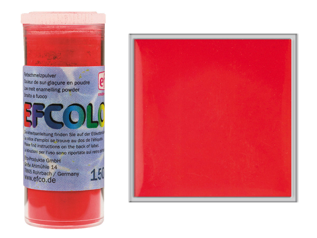 Efcolor Enamel Strawberry 10ml
