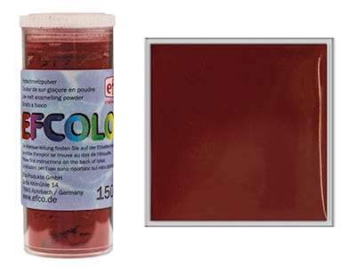 Efcolor Enamel Dark Red 10ml