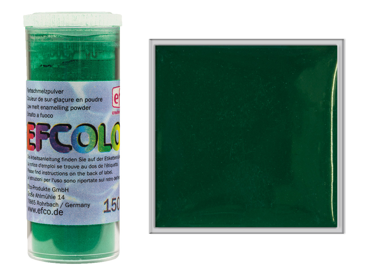 Efcolor Enamel Dark Green 10ml
