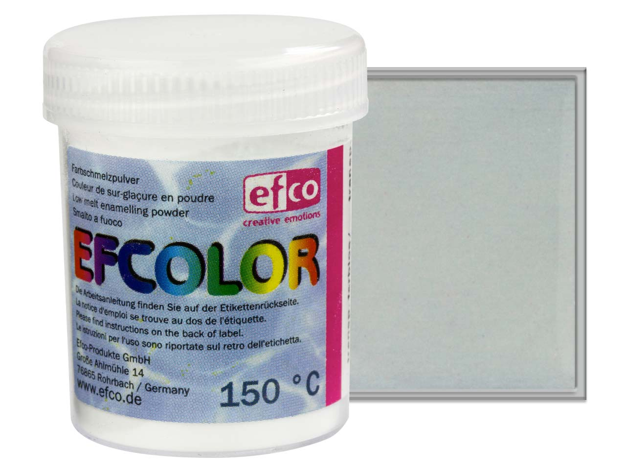 Efcolor Enamel Colourless          Transparent 25ml