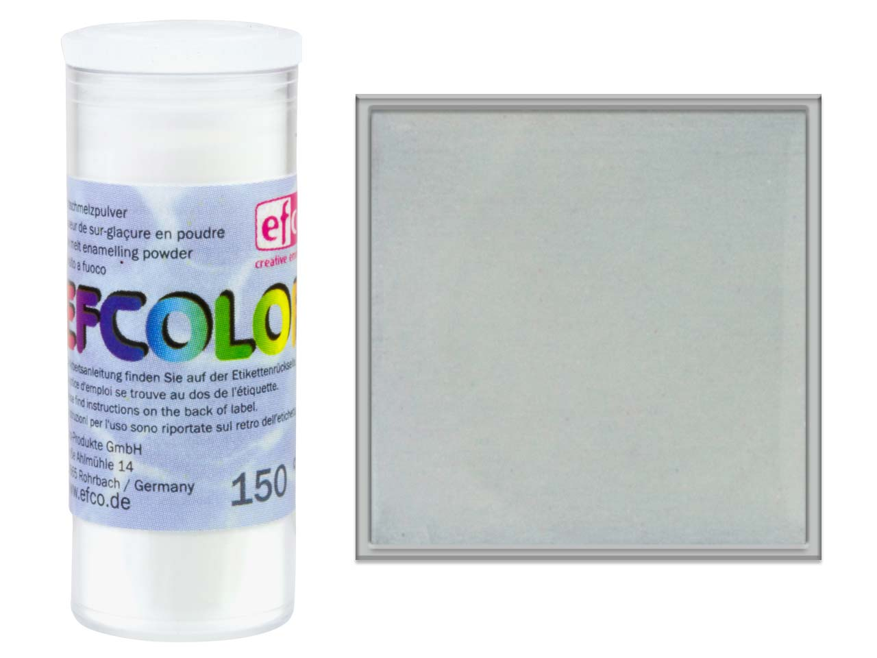 Efcolor Enamel, Transparent        Colourless, 10ml