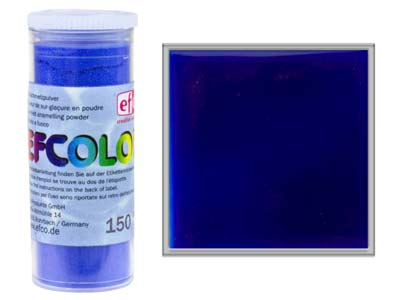 Efcolor Enamel Transparent Blue  10ml