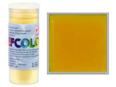 Efcolor Enamel Transparent Gold  10ml