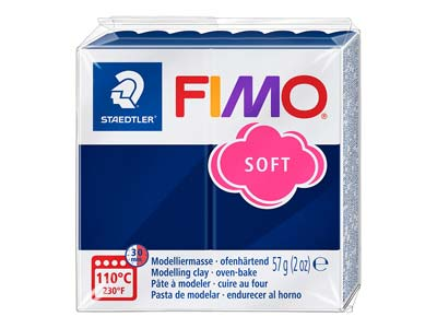 Fimo Soft Windsor Blue 56g Polymer Clay Block Fimo Colour Reference 35