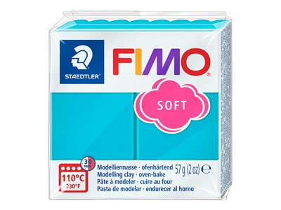 Fimo Soft Peppermint 56g Polymer Clay Block Fimo Colour Reference 39