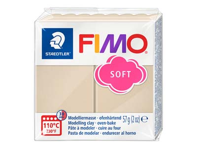 Fimo Soft Sahara 57g Polymer Clay  Block Fimo Colour Reference 70