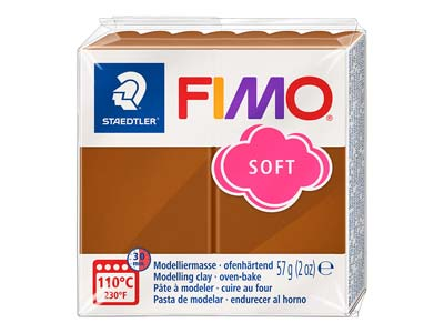 Fimo Soft Caramel 57g Polymer Clay Block Fimo Colour Reference 7