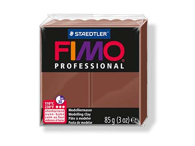 Fimo Professional Chocolate 85g    Polymer Clay Block Fimo Colour     Reference 77