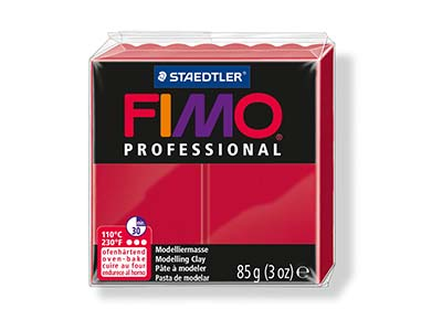 Fimo Professional Carmine 85g      Polymer Clay Block Fimo Colour     Reference 29
