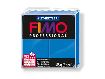 Fimo Professional True Blue 85g    Polymer Clay Block Fimo Colour     Reference 300