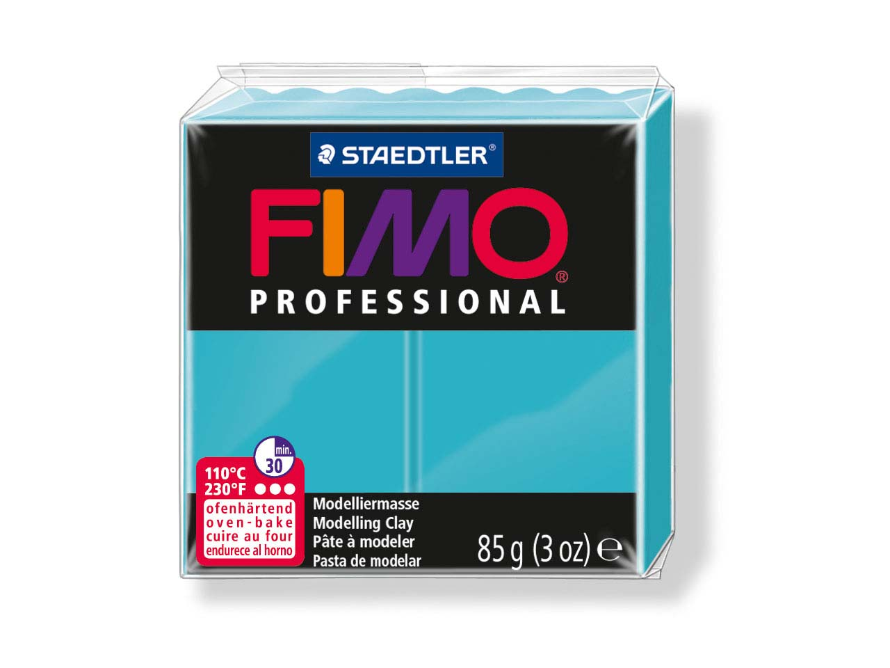 Fimo Professional Turquoise 85g    Polymer Clay Block Fimo Colour     Reference 32