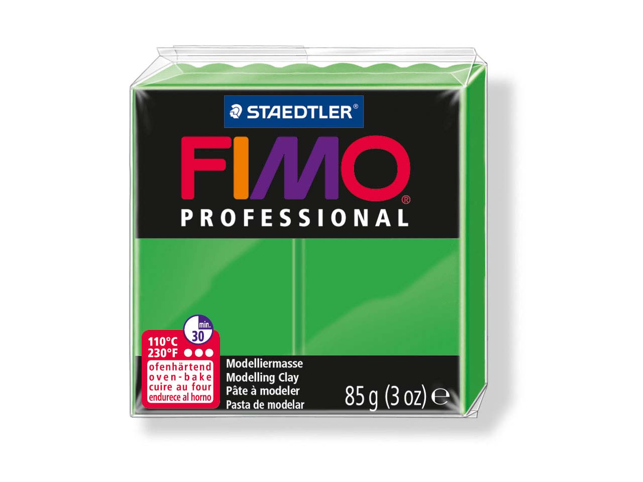 Fimo Professional Sapphire Green   85g Polymer Clay Block Fimo Colour Reference 5