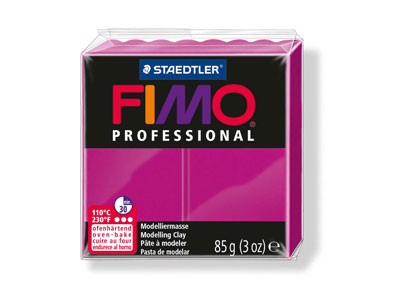 Fimo Professional Magenta 85g      Polymer Clay Block Fimo Colour     Reference 210