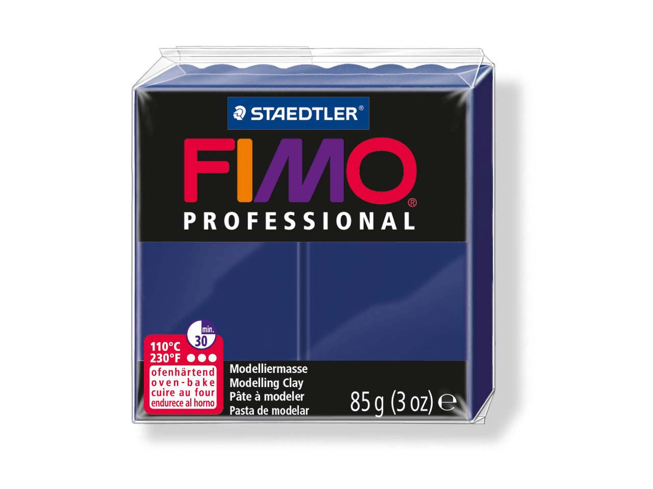 Fimo Professional Navy Blue 85g    Polymer Clay Block Fimo Colour     Reference 34