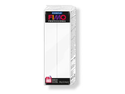 Fimo Professional White 350g       Polymer Clay Block Fimo Colour     Reference 0