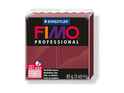 Fimo Professional Bordeaux 85g     Polymer Clay Block Fimo Colour     Reference 23