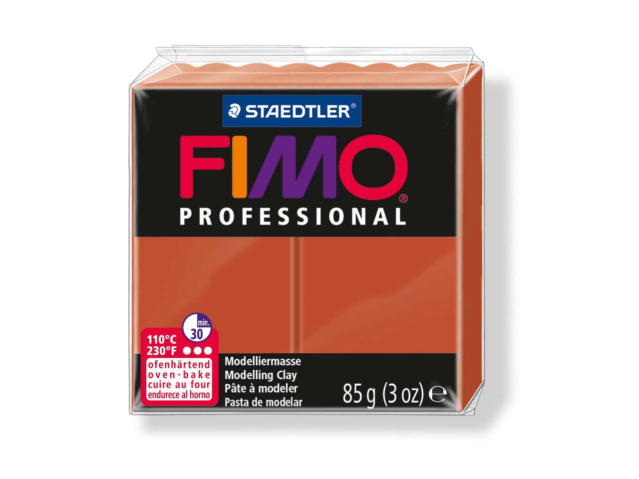 Fimo Professional Terracotta 85g   Polymer Clay Block Fimo Colour     Reference 74