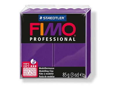 Fimo Professional Lilac 85g Polymer Clay Block Fimo Colour Reference 6