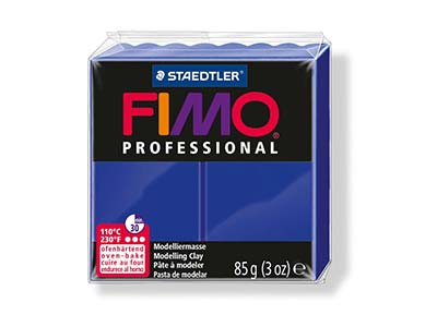 Fimo Professional Ultramarine 85g  Polymer Clay Block Fimo Colour     Reference 33