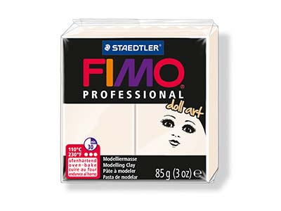 Fimo Professional Doll Art         Porcelain 85g Polymer Clay Block   Fimo Colour Reference 03