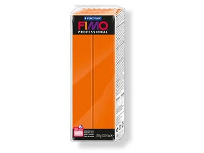 Fimo Professional Orange 350g      Polymer Clay Block Fimo Colour     Reference 4