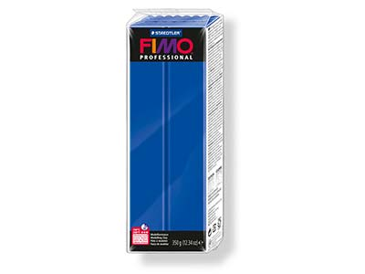 Fimo Professional Ultramarine 350g Polymer Clay Block Fimo Colour     Reference 33