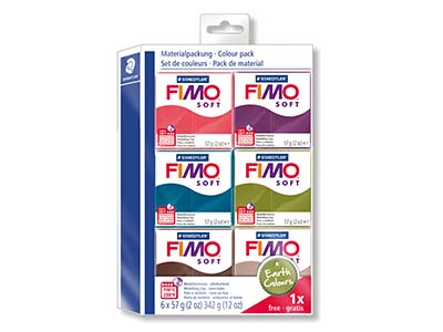 Fimo Soft Earth Colours Clay Set   51 Free
