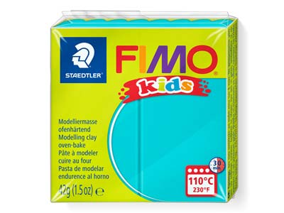 Fimo Kids Turquoise 42g Polymer     Clay Block Fimo Colour Reference 39