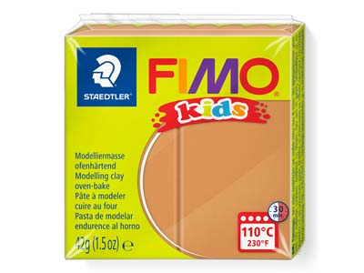 Fimo Kids Light Brown 42g Polymer   Clay Block Fimo Colour Reference 71
