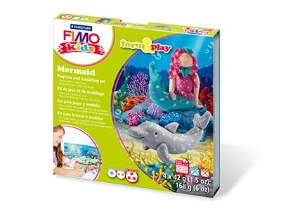 Fimo Mermaid Kids Form And Play    Polymer Clay Set