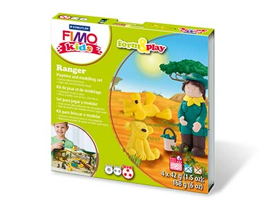 Fimo Ranger Kids Form And Play     Polymer Clay Set