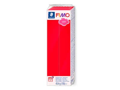 Fimo Soft Indian Red 454g Polymer   Clay Block Fimo Colour Reference 24