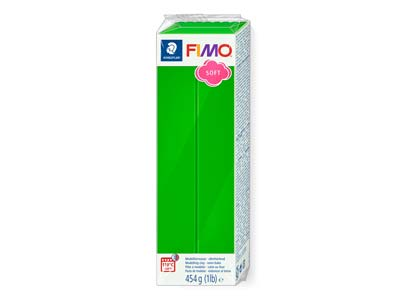 Fimo Soft Tropical Green 454g      Polymer Clay Block Fimo Colour     Reference 53