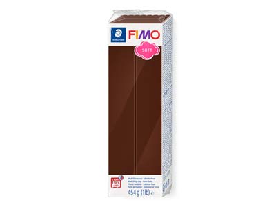 Fimo Soft Chocolate 454g Polymer    Clay Block Fimo Colour Reference 75