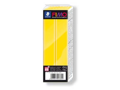 Fimo Professional True Yellow 454g Polymer Clay Block Fimo Colour     Reference 100