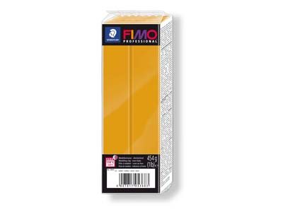 Fimo Professional Ochre 454g       Polymer Clay Block Fimo Colour     Reference 17