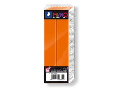 Fimo Professional Orange 454g      Polymer Clay Block Fimo Colour     Reference 4