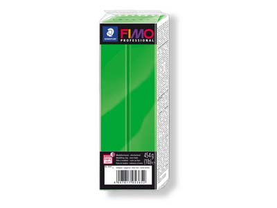 Fimo Professional Sapphire Green    454g Polymer Clay Block Fimo Colour Reference 5