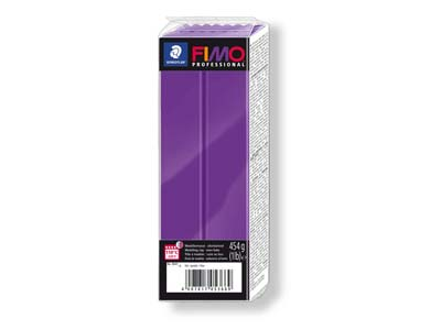 Fimo Professional Purple 454g      Polymer Clay Block Fimo Colour     Reference 6
