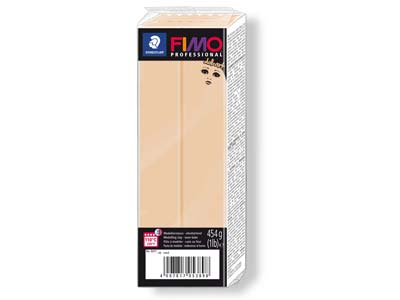 Fimo Professional Doll Art Sand     454g Polymer Clay Block Fimo Colour Reference 45