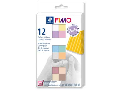 Fimo Soft Colour Pack Pastel       Pack of 12,