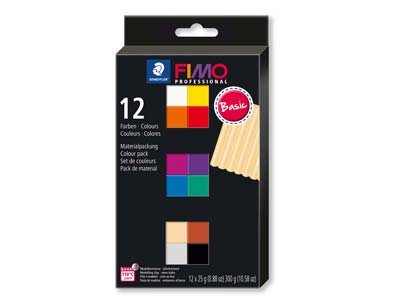 Fimo Professional Colour           Pack of 12,