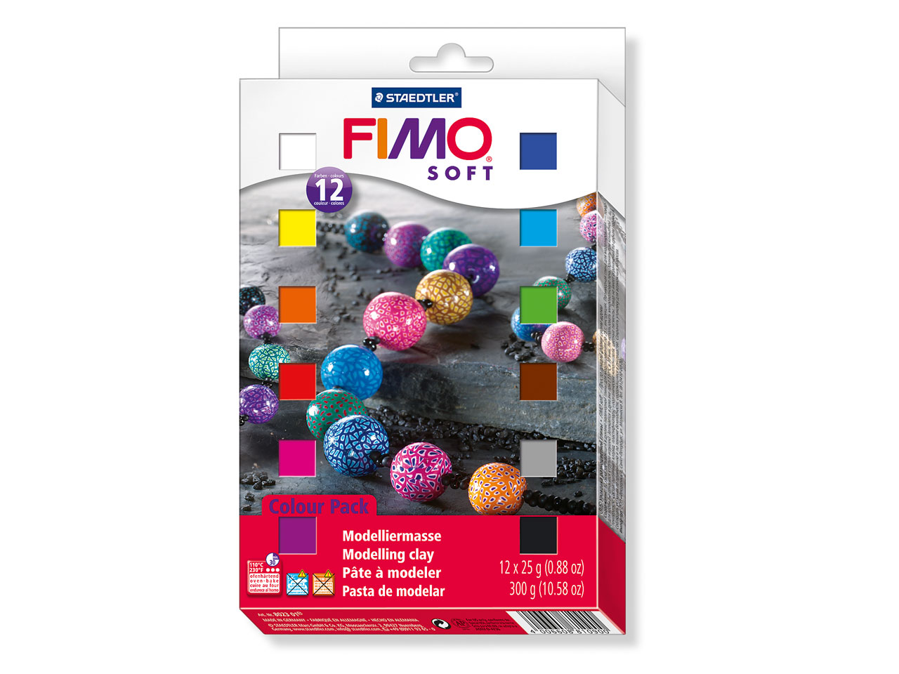 Fimo Soft Starter Pack of 12,