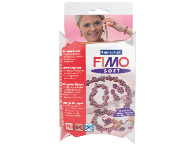 Fimo Jewellery Set Romantic
