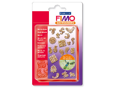 Fimo Moulds Ornaments