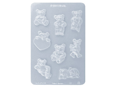 Fimo Clay Moulds - Little Bears