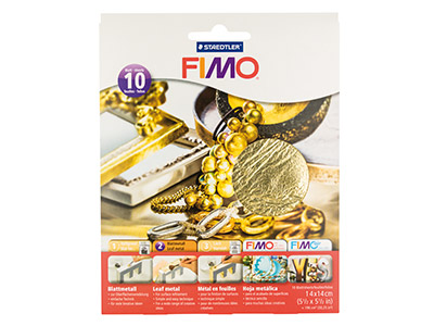 Fimo Gold Leaf Metal 10 Sheets